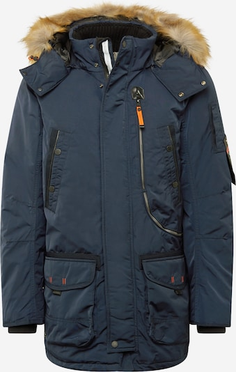 TOM TAILOR Winterparka in de kleur Marine, Productweergave