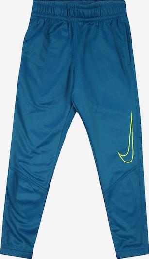 Sportinės kelnės iš NIKE , spalva - geltona / benzino spalva, Prekių apžvalga