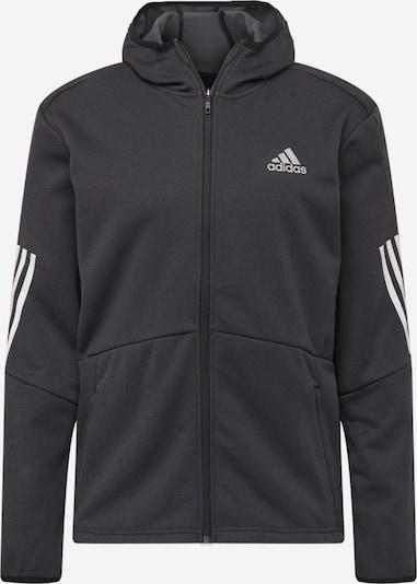 Jachetă  fleece funcțională ADIDAS PERFORMANCE pe negru / alb, Vizualizare produs