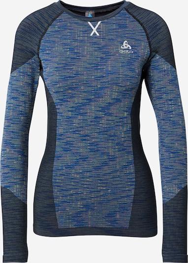 ODLO T-shirt fonctionnel 'Blackcomb' en bleu marine / bleu roi, Vue avec produit