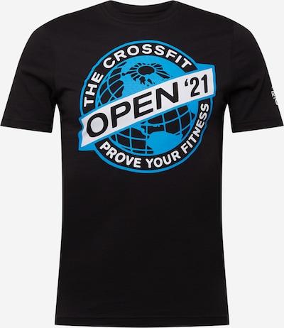 REEBOK Toiminnallinen paita värissä sininen / musta / valkoinen, Tuotenäkymä