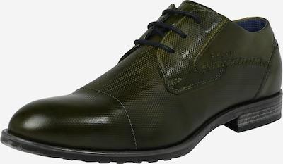 bugatti Šnurovacie topánky 'Lotus' - tmavozelená, Produkt