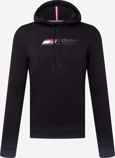Tommy Sport Sportska sweater majica 'LOGO FLEECE HOODY' u crna, Pregled proizvoda