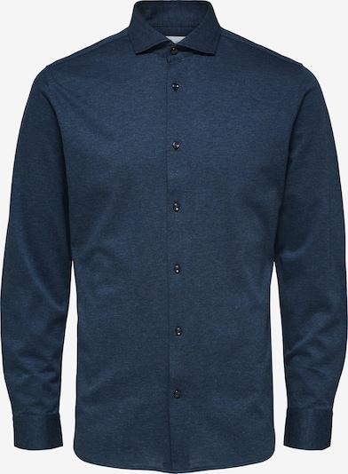 SELECTED HOMME Overhemd in de kleur Enziaan, Productweergave
