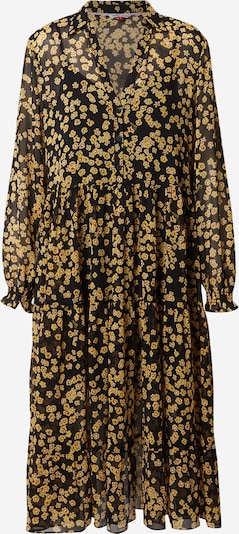 Tommy Jeans Robe-chemise en jaune / noir: Vue de face