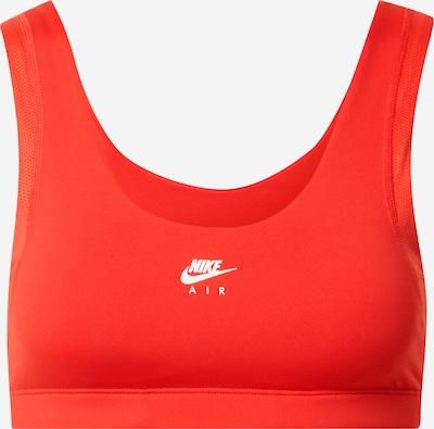 Sutien sport 'Indy' NIKE pe roșu intens / alb, Vizualizare produs