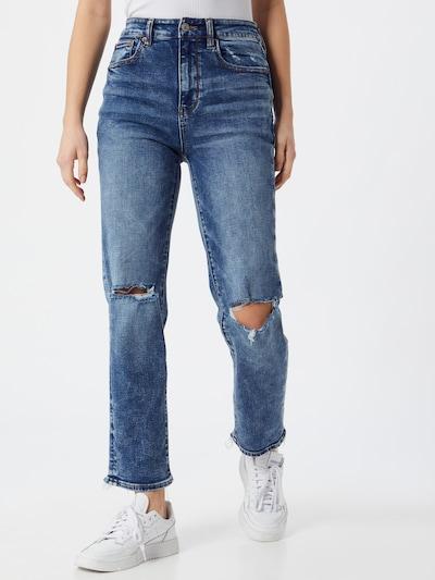 American Eagle Jeans in de kleur Blauw denim, Modelweergave