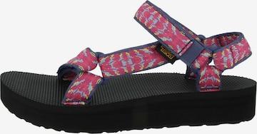 TEVA Sandale 'Midform Universal' in Pink