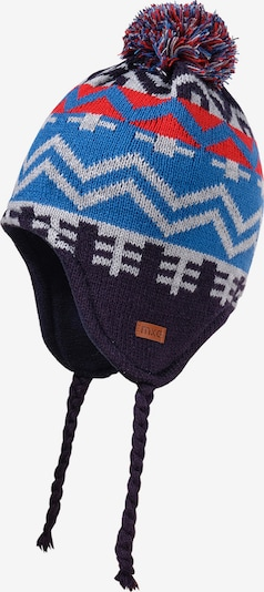 MAXIMO Mütze in blau / rot / weiß, Produktansicht