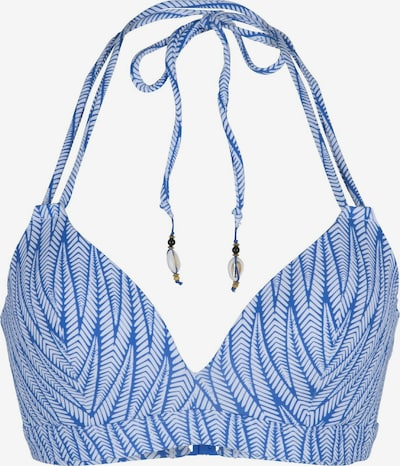 LingaDore Bikinitop in blau / weiß, Produktansicht