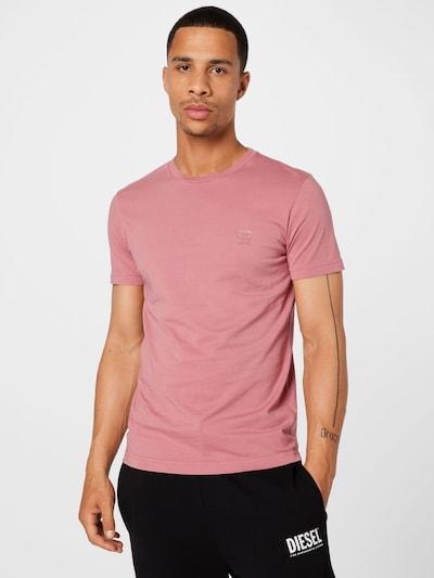 Maglietta 'DIEGOS' DIESEL di colore rosé: Vista frontale