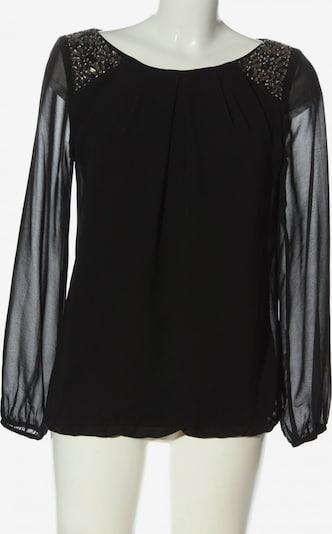 F&F Clothing & Fashion Langarm-Bluse in S in schwarz, Produktansicht