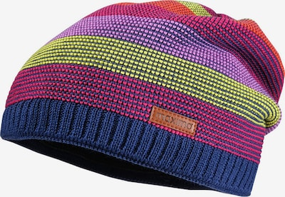 MAXIMO Mütze in dunkelblau / gelb / lila / orange / pitaya, Produktansicht