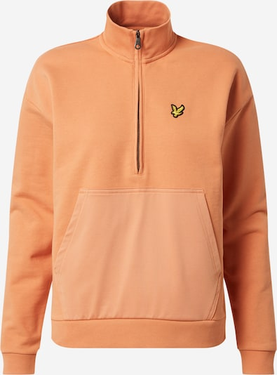 Lyle & Scott Sweatshirt in de kleur Abrikoos, Productweergave