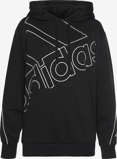 ADIDAS PERFORMANCE Sweatshirt 'Essentials' in schwarz / weiß, Produktansicht