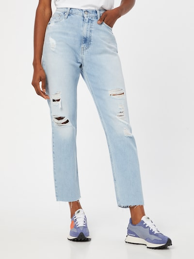 Calvin Klein Jeans Traperice u svijetloplava, Prikaz modela