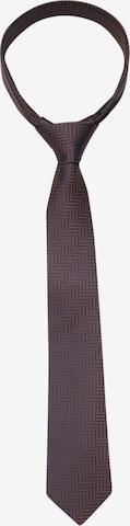 SEIDENSTICKER Krawatte in Braun