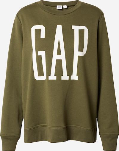 GAP Sweatshirt in oliv / weiß, Produktansicht