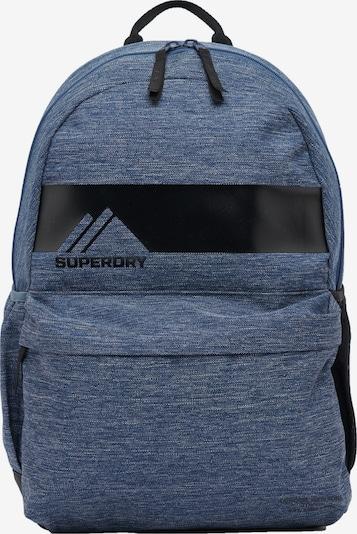 Superdry Rugzak 'Mountain Montana' in de kleur Blauw / Zwart, Productweergave