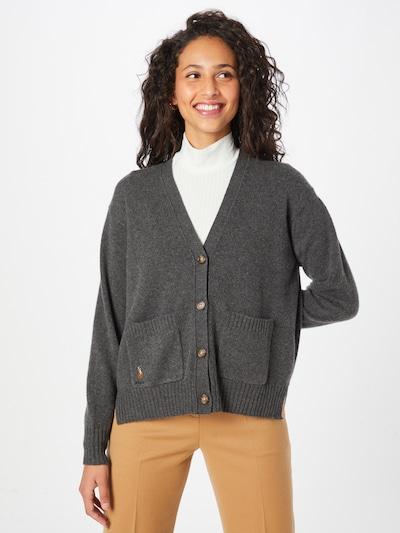 Geacă tricotată Polo Ralph Lauren pe gri amestecat, Vizualizare model