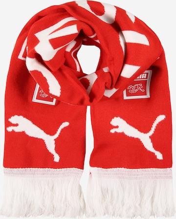 Écharpe de sport PUMA en rouge