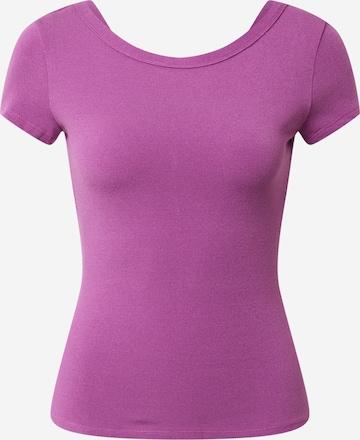 MAX&Co. T-Shirt 'Danzante' in Lila