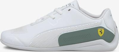 PUMA Sneaker 'Ferrari Drift Cat 8 Youth' in gelb / grau / weiß, Produktansicht