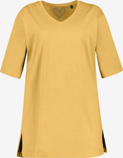 Ulla Popken T-shirt en jaune, Vue avec produit
