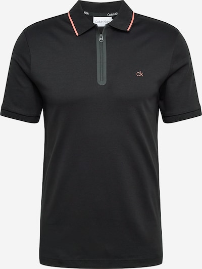 Calvin Klein Camiseta en rojo claro / negro, Vista del producto