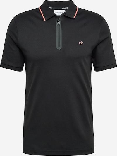 Calvin Klein Тениска в светлочервено / черно, Преглед на продукта