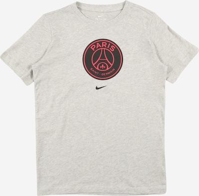 Tricou funcțional NIKE pe gri amestecat / roșu / negru, Vizualizare produs