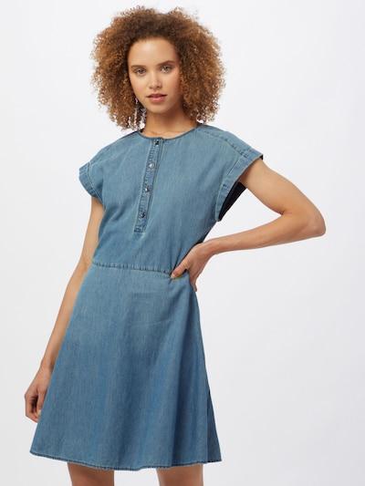 ARMANI EXCHANGE Košulja haljina u plavi traper, Prikaz modela