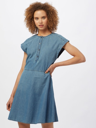 ARMANI EXCHANGE Robe-chemise en bleu denim, Vue avec modèle