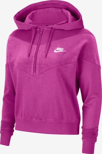 Nike Sportswear Sweatshirt 'Heritage' in lila, Produktansicht
