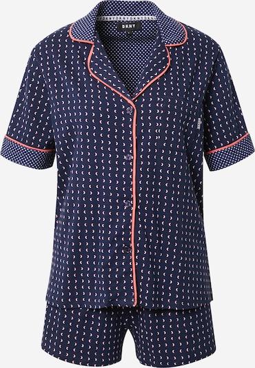 DKNY Pyžamo - námořnická modř / korálová / bílá, Produkt