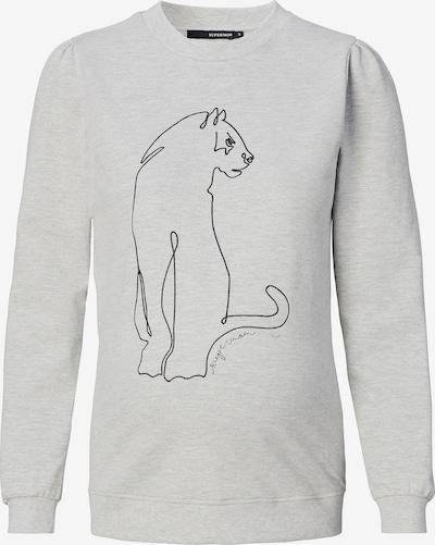 Supermom Sweatshirt ' Leopard Grey ' in grau / schwarz, Produktansicht