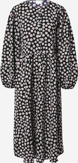 VILA Kleid 'Flouda' in gelb / schwarz / weiß, Produktansicht