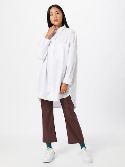 ZABAIONE Blouse 'Caren' in de kleur Wit, Modelweergave