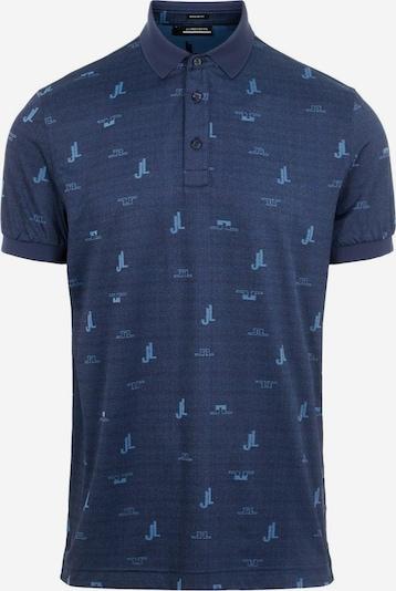 J.Lindeberg Functioneel shirt in de kleur Lichtblauw, Productweergave