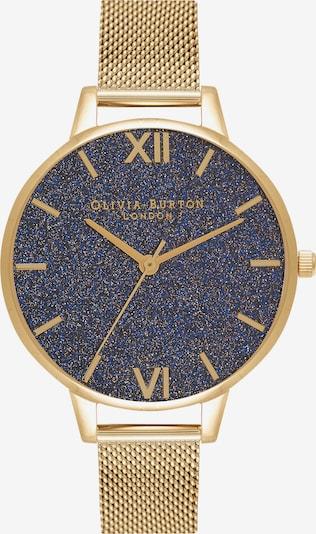 Olivia Burton Analoguhr in dunkelblau / gold, Produktansicht