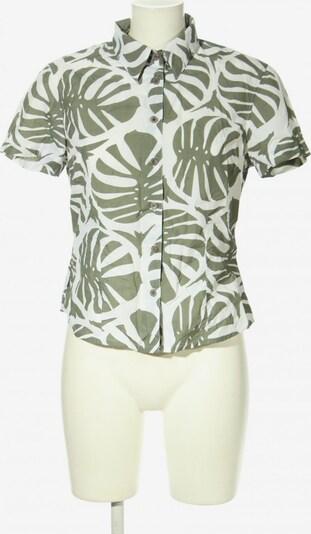 ODLO Kurzarmhemd in S in khaki / weiß, Produktansicht