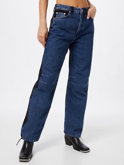 NU-IN Jeans in blau / schwarz, Modelansicht