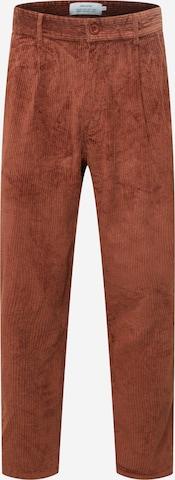 DEDICATED. Voltidega püksid, värv pruun
