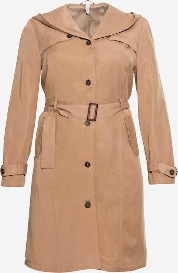 SHEEGO Prehoden plašč | kapučino barva, Prikaz izdelka
