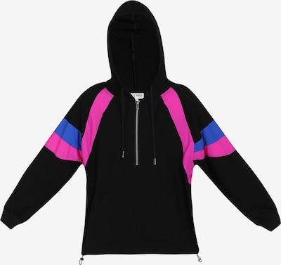 myMo ATHLSR Trainingsjacke in blau / pink / schwarz, Produktansicht
