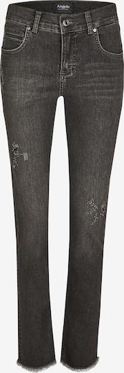 Angels Jeans ,Cici Destroyed Sparkle' mit Glitzersteinen in grau, Produktansicht