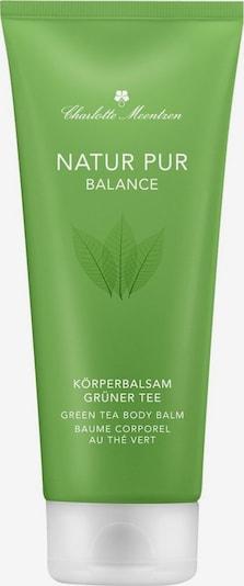 Charlotte Meentzen Körperbalsam Grüner Tee 'Natur Pur Balance' in grün, Produktansicht