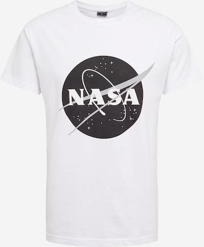 Mister Tee Shirt 'NASA' in hellgrau / schwarz / offwhite, Produktansicht