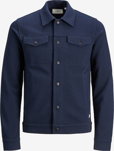 Produkt Tussenjas in de kleur Donkerblauw, Productweergave