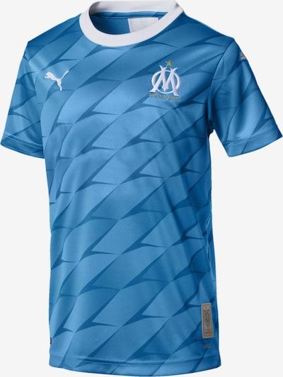 PUMA Auswärtstrikot 'Olympique de Marseille' in taubenblau / himmelblau / weiß, Produktansicht